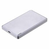 "Super Slim Alta velocidade 10 Gbps USB 3.1 Gen 2 Tipo-C Gabinete de disco rígido externo Capa de disco rígido SATA 2.5 ""para HDD de disco rígido de 2,5"" ou SSD"
