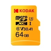 Kodak Micro SD Card 64GB TF Card U3 A1 V30 Memory Card 100MB/s Reading Speed 4K Video Record