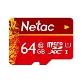 Netac 64GB MicroSD Memory Card U1 C10