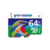 yvonne Micro SDHC TF Flash Memory Card Data Storage 64GB Fast Speed
