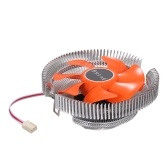 Hydraulic CPU Cooler Heatpipe Fans Quiet Heatsink Radiator for Intel Core AMD Sempron Platform