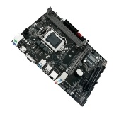 JGINYUE B75M-VH PLUS Gaming Motherboard with Dual DDR3 Memory Slots 4 SATA Ports Support Intel LGA1155 Series Processors
