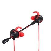 Sômica G618 com fio In-ear Video Gaming Earbuds Fones De Ouvido Fone De Ouvido