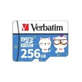 Карта памяти Verbatim Micro SD Class10 TF Карточка памяти на 256 ГБ