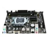 Płyta główna H61 V W11 Płyta główna MATX HD LGA1155, I3 / I5 / I7 (Sandy Bridgea i Ivy Bridge) Procesor 2 gniazda DIMM Pamięć DDR3 Pojemność pamięci do 16 GB