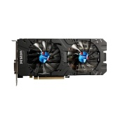 Yeston RX580-2048SP-4G D5 GAEA-Grafikkarten Radeon Chill Polaris 20 Dual Fan Cooling 4 GB Speicher GDDR5 256-Bit-DP / HDMI / 2xDL-DVI-D-GPU