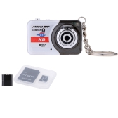 X6 Portable Ultra Mini HD High Denifition Digital Camera  +Andoer 32GB Class 10 Memory Card + Adapter + Card Reader USB Flash Drive