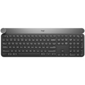 Logitech Craft Wireless Office BT Keyboard BT&Unifying Dual-mode Connection Multi-device Compatible with Creative Input Dial