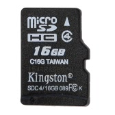 Kingston Class 4 8 16 GB MicroSDHC TF Flash Memory Card 4 MB/s vitesse minimale
