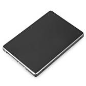 S103-RTK M.2 Adaptador de conversor NGFF para SATA III 2.5in Liga de alumínio M.2 NGFF para caixa SATA SSD para 2242/2260 / 2280mm NGFF M.2 SSD Preto