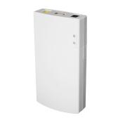 GM322 Mini UPS Power Protection Charger 7800MAH DC Power Bank Potência portátil para 12V 2A Aplicações Proteção Branco