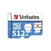 Verbatim Micro SD Karte Class10 TF Karte 512GB Speicherkarte