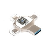 USB Flash Drive 4 in 1 Type-C / Lightning / Micro USB / USB 2.0