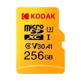 Kodak Micro SD Card 256GB TF Card U3 A1 V30 Memory Card 100MB/s Reading Speed 4K Video Record