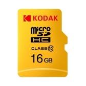 Карта памяти Kodak Micro SD 16 ГБ TF Карта Class10 C10 U1 Быстрая скорость