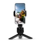 Suporte para rastreamento de objetos 360 ° Tripé de tiro inteligente Selfie Stick Face Suporte para rastreamento de objetos Tela horizontal vertical