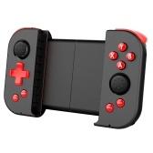 Wireless BT Gamepad Портативный эластичный игровой контроллер с функцией Turbo Dual Rocker, совместимый с Android / iOS Red & Black