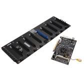 Kolorowe 8 kart graficznych Plus Coining Mining Płyta główna dla Intel Bay Trail-D J1900
