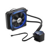 Segotep Liquid Freezer Sistema de refrigeração de gelo de água Sistema de refrigeração de CPU Fluid Dynamic Bearing 120mm Fan with Blue LED Light