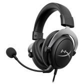 Игровые наушники Kingston HyperX Cloud X Съемный микрофон с шумоподавлением Прочная и прочная алюминиевая рама Аудио в игре