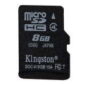 Kingston Class 4 8G 16GB MicroSDHC TF Flash Memory Card 4MB/s with Adapter