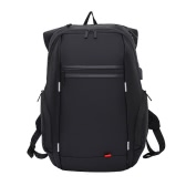 15.6 Inch Nylon Laptop Backpack with USB Charging Port Anti-Theft Water Resistant Work Travel Shoulder Bag School Bookbag Hiking Rucksack Knapsack for Tablet Notebook Laptop
