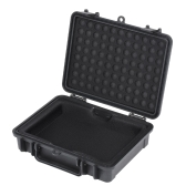 PHF-35-BK 3.5in HDD Hard Drive Protective Cover Water Resistant Carrying Case Shock Dust Proof EVA Cushion Black