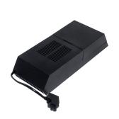 Caixa de disco rígido HDD de 3,5 in Extender do jogo Banco de dados Capa de proteção do disco rígido Capa de caixa de atualização para PS4 Gaming Console Black
