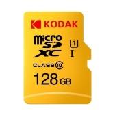 Карта памяти Kodak Micro SD 128 ГБ TF Карта Class10 C10 U1 Быстрая скорость