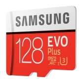 SAMSUNG Carte mémoire 32GB / 64GB / 128GB / 256GB 95MB / S 4K Class10 Cartes Micro SD Red Plus U3 128GB