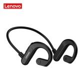 Lenovo X3 Wireless Headphone BT 5.0 Titanium Alloy Earphone IPX5 Sweatproof Waterproof Sports Headset Black