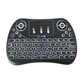 T2 Portable 2.4G Mini Keyboard Touchpad with Backlit