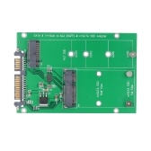 M.2 NGFF para placa adaptadora SATA MSATA SSD para suporte a conversor SATA III 2230 2242 2260 2280