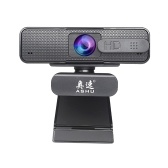 ASHU 1920x1080P High Definition Video Webcam with Double Noise Reduction Mic