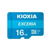 KIOXIA 16GB TF(Micro SD) Memory Card U1 100MB/s Reading Speed HD Video Waterproof Memory Card for Phone/Tablet/Camera/Laptop