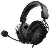 Игровая гарнитура Kingston HyperX Cloud Alpha S Наушники с двойным звуком и объемным звуком 7.1 Съемный микрофон Черный