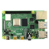 Raspberry Pi 4 Model B Development Board Expansion Motherboard with BCM2711B0 SOC ARM Cortex-A72 Quad-core CPU 4GB Memory