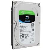 Seagate 1TB videovigilância HDD interno do disco rígido de 7200 RPM SATA 6Gb/s 64MB 3,5 polegadas Cache ST1000VX000