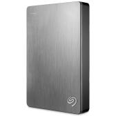 """Seagate Backup Plus Slim USB 3.0 2,5 """"Przenośny zewnętrzny dysk twardy 4TB dla komputerów stacjonarnych STDR4000301"""