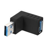 Kątowy konwerter USB3.0 AM na AF L Kształt Konwerter USB 3.0 A z męskim na żeńskim Kąt pod kątem 90 stopni