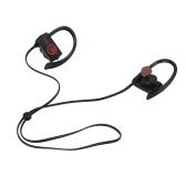 DACOM L08 Słuchawki Bluetooth 4.1 Bezprzewodowy zestaw słuchawkowy Sport Słuchawki douszne IPX7 Wodoodporny z mikrofonem dla Androida iOS Czerwony