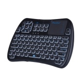 iPazzPort KP81061 Mini Teclado Sem Fio Backlit 2.4G Air Mouse com Touchpad