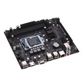 X7 V123M Motherboard, Tarjeta madre DRR3 Hardware de computadora LGA1155 Max 16GB Motherboard