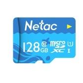 Netac Cartão de 128GB TF Cartão Micro SD de grande capacidade UHS-1 Class10 Câmera de cartão de memória de alta velocidade Câmera Dashcam Monitores Cartão Micro SD