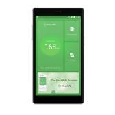 GlocalMe G4 4G WiFi Router Schermo HD Rete veloce WiFi mobile Hotspot Banca di alimentazione in roaming gratuita con slot per schede SIM (nero)