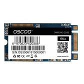 OSCOO NGFF/M.2 2242 Laptop SSD 64GB Solid State Disk High Speed SATA3