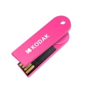 KODAK K212 Slim U Disk Portable USB 2.0 On-Vehicle Music U Drive Waterproof Mini Size 16GB Rose Red
