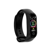Sports Smart Bracelet BT4.0 Smart Bracelet IP67 Waterproof Support Movement Track Heart Rate Monitor Information Push Black