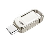EAGET CU31 128 Go en métal haute vitesse USB Flash Drive USB3.0 Type-C Disque U à double usage pour Type-C Smart Phone PC Laptop
