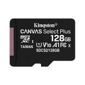 Kingston 128 GB 100 MB / s SDCS2 Class10 UHS-1 U1 V10 A1 Micro SD TF-Kartenspeicherkarte